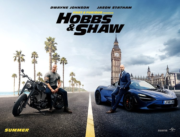 Hızlı ve Öfkeli: Hobbs & Shaw afişleri