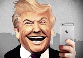Trump iPhone'unda sadece o uygulamayı kullanıyor