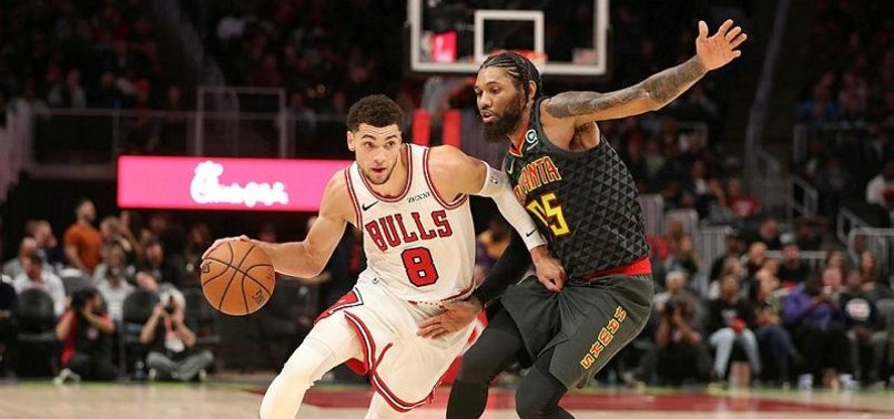 LAVINE, BULLS HOLD OFF HAWKS, 97-85