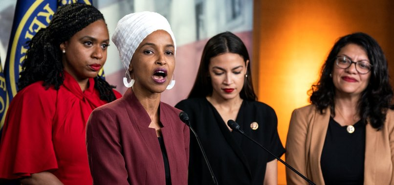 DEMOCRATIC CONGRESSWOMAN ILHAN OMAR BRANDS DONALD TRUMP FASCIST AFTER RALLY TAUNTS