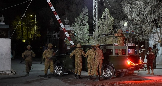 At least 60 killed in attack on Pakistan police academy