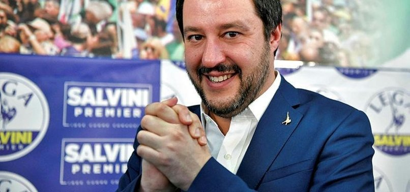 BERLUSCONI BACKS FAR-RIGHT LEADER SALVINI AS NEXT ITALIAN PM