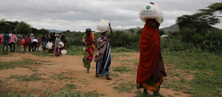 Etiyopya'da yerinden edilenlerin sayısı 2,3 milyonu aştı