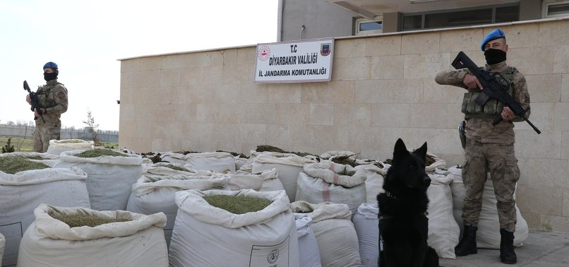 TURKISH SECURITY FORCES SEIZE 5 TONS OF HASHISH IN ANTI-PKK OPERATION