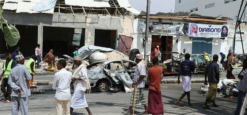 BOMB BLAST OUTSIDE CAPITAL MOGADISHU KILLS 3