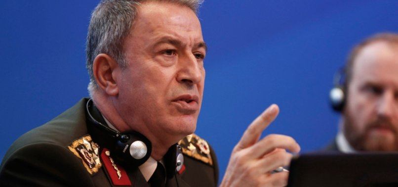 TURKEY TO TAKE ALL NECESSARY STEPS: DEFENSE MINISTER ON TERROR ATTACKS IN N. SYRIA