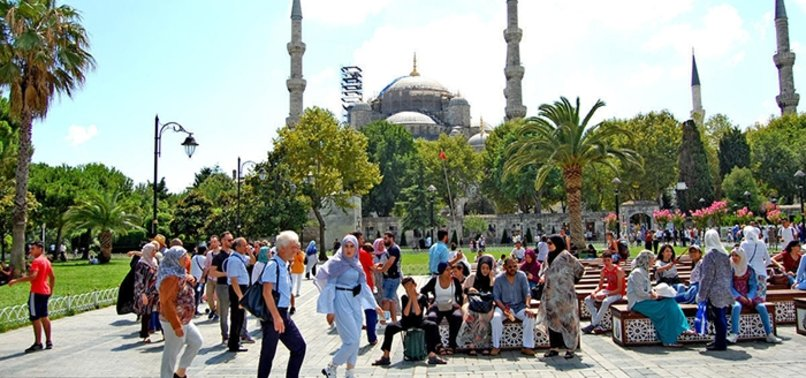 TURKEY WELCOMES OVER HALF MILLION TOURISTS IN JANUARY