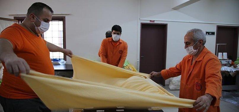 TURKISH PRISONERS PRODUCE DUVETS FOR EUROPEAN MARKETS