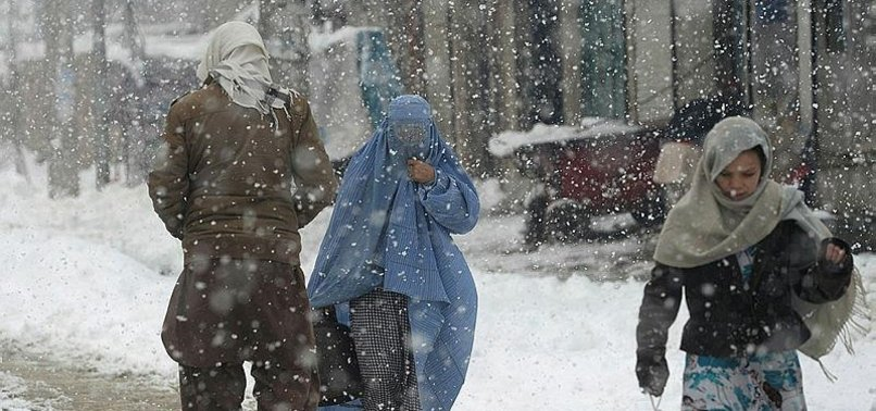 HEAVY SNOWFALL, AVALANCHE LEAVES 15 DEAD IN AFGHANISTAN