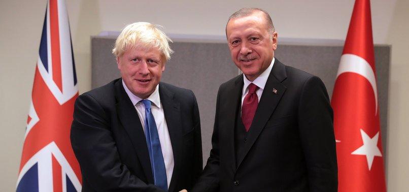 BRITISH PM JOHNSON: SYRIA ISSUE AND PKK THREAT DISCUSSED AT QUARTET LONDON MEETING
