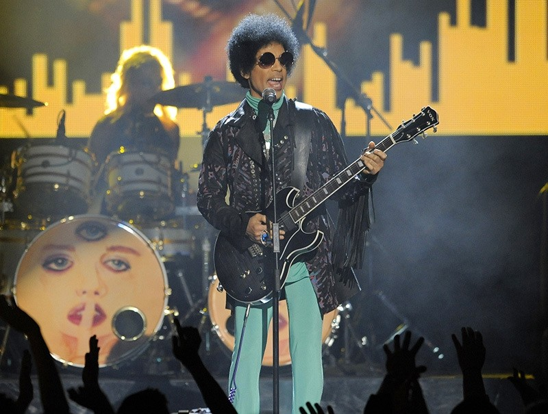 In this May 19, 2013, file photo, Prince performs at the Billboard Music Awards at the MGM Grand Garden Arena in Las Vegas. (AP Photo)