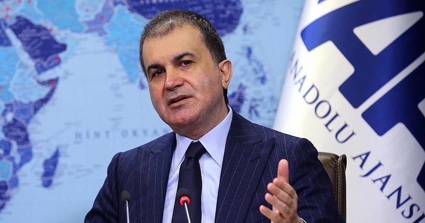 AB Bakanı Ömer Çelik: ''Türkiye ile aralarına Berlin duvarı örüyorlar'' dedi.