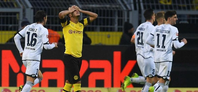 DORTMUND SURRENDER THREE-GOAL LEAD IN HOFFENHEIM DRAW