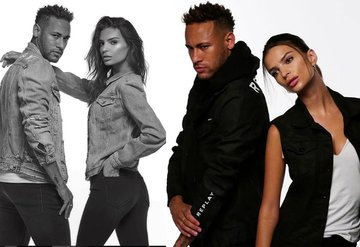 Emily Ratajkowski ve Neymar aynı karede!