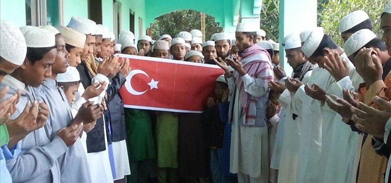 ROHINGYA ORPHANS IN BANGLADESH PRAY FOR TURKISH ARMY