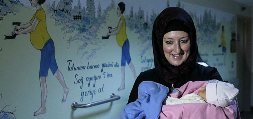CANADIAN MOTHER GIVES WATER BIRTH IN TURKEY