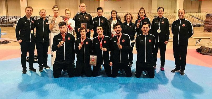 TURKISH TAEKWONDO ATHLETES BAG 4 MEDALS IN BELGIUM