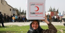 Red Crescent takes lead in UN aid to Syria's displaced