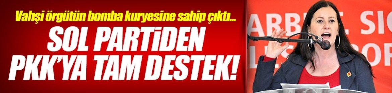Sol Parti'den PKK'ya tam destek