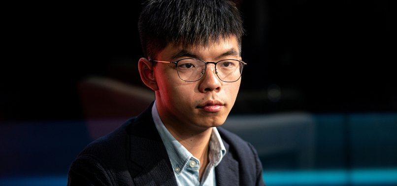HONG KONG ACTIVIST SEEKS US SUPPORT FOR PRO-DEMOCRACY PROTESTS