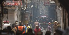 At least 43 dead in market fire in India's New Delhi
