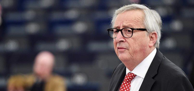 EUS JUNCKER SAYS HE IS CONVINCED BREXIT WILL HAPPEN