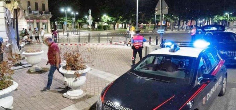 ITALIAN FAR-RIGHT COUNCILLOR SHOOT DEAD MOROCCAN MAN IN NORTHERN CITY OF VOGHERA