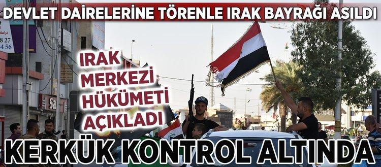 Irak hükümeti Kerkük'ün tamamında kontrolü sağladı