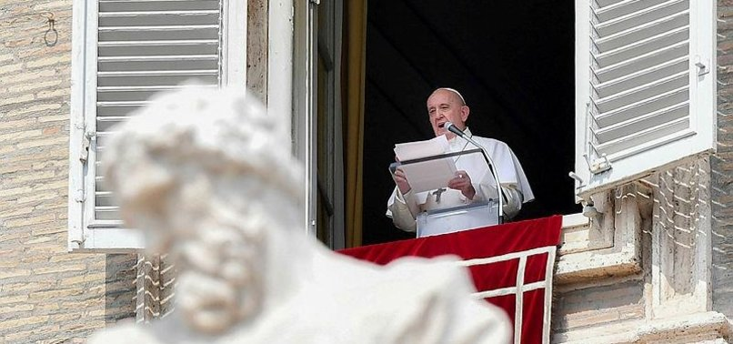 POPE URGES POLITICIANS TO TAKE DRASTIC MEASURES ON CLIMATE CHANGE