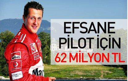 Efsane pilot için 62 milyon TL