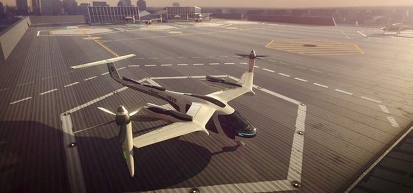 US STARTUP SECURES FUNDING FROM TOYOTA FOR ELECTRIC AIR TAXI