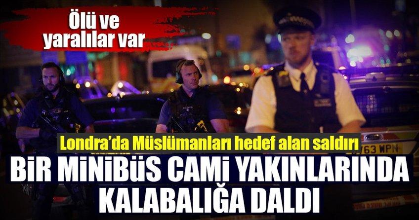 Londrada Müslümanları hedef alan araçlı saldırı