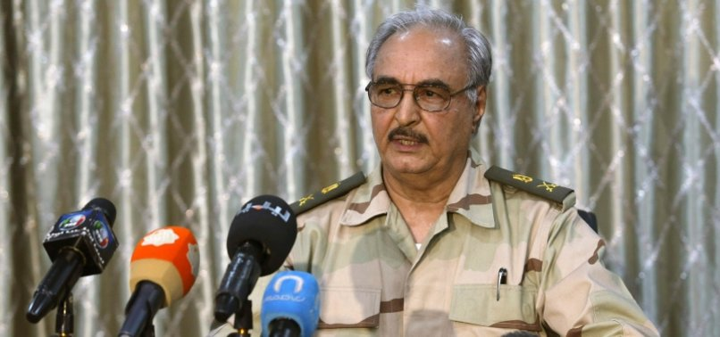 US WARNS LIBYAN PUTSCHIST GENERAL HAFTAR OVER WAGNER GROUP AND OIL SUPPLY
