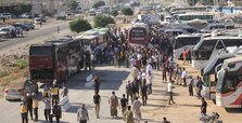 2nd evacuation convoy from Quneitra arrives in Idlib