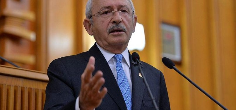 MAIN OPPOSITION CHP HEAD CALLS FOR INTERNATIONAL ISOLATION OF ISRAEL