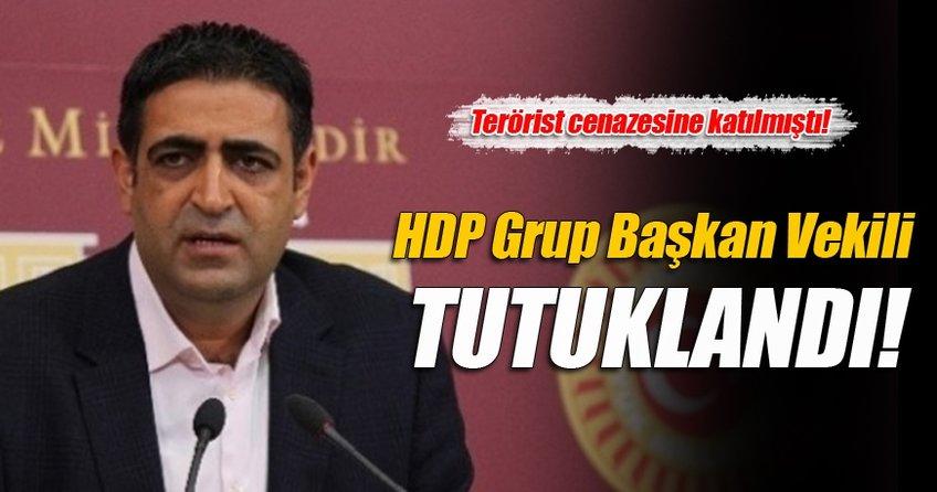 HDP'nin Grup Başkan Vekili tutuklandı