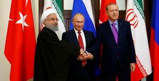 Turkey, Russia, Iran back Syrias territorial integrity