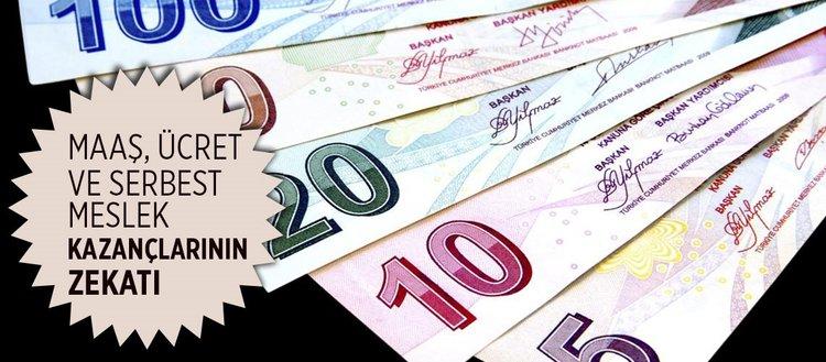 Zekata tabi mallar nelerdir? Maaş, ücret ve serbest meslek kazançları için zekat verilir mi?