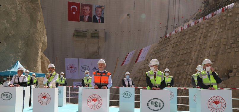 NEARLY 600 DAMS PUT INTO SERVICE IN TURKEY SINCE 2003: ERDOĞAN