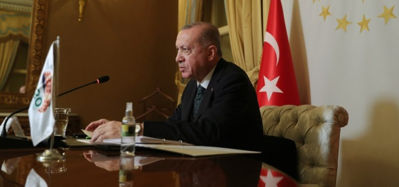 ERDOĞAN SAYS TURKEY HAS DEPORTED ALMOST 9,000 TERRORISTS SO FAR