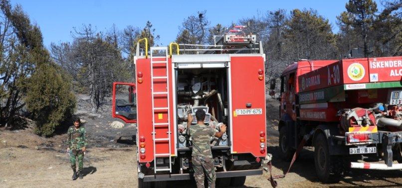 AZERBAIJAN SENDING NEW TEAM TO HELP TURKEY FIGHT WILDFIRES