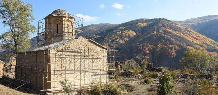 69 yıllık İmera Manastırı restore ediliyor