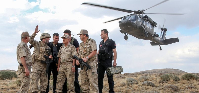 TURKEY 'NEUTRALIZES' 635 PKK TERRORISTS IN 2019, INTERIOR MINISTER SAYS
