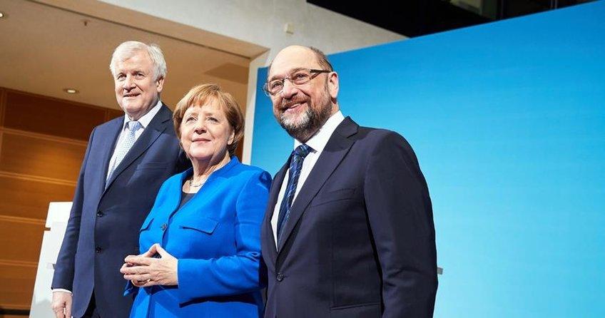 Almanyada liderler mutabakata vardı