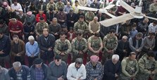Afrin locals, Turkish troops join in Friday prayers