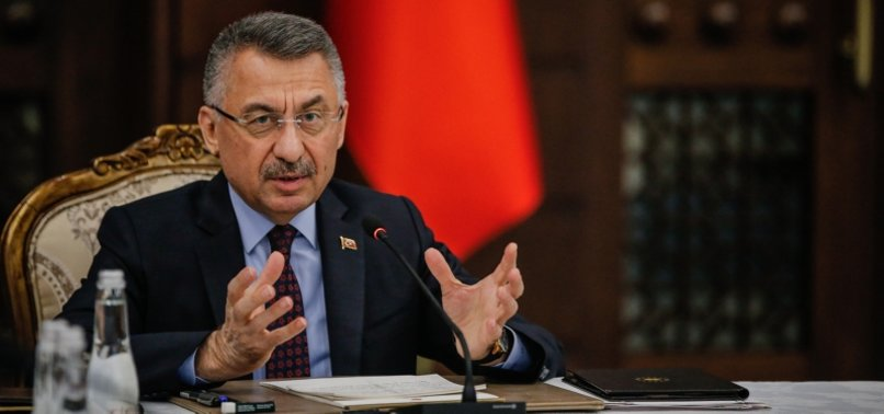 TURKEY TO BE AN ALTERNATIVE GLOBAL POWER IN PRODUCTION POST-PANDEMIC: TURKISH VP OKTAY