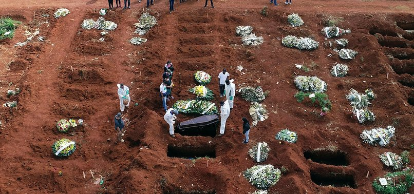 BRAZIL'S COVID DEATHS TOP 4,000 FOR 2ND TIME THIS WEEK