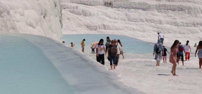 OVER 3 MILLION TOURISTS VISIT TURKEYS HISTORICAL SITES THIS SUMMER
