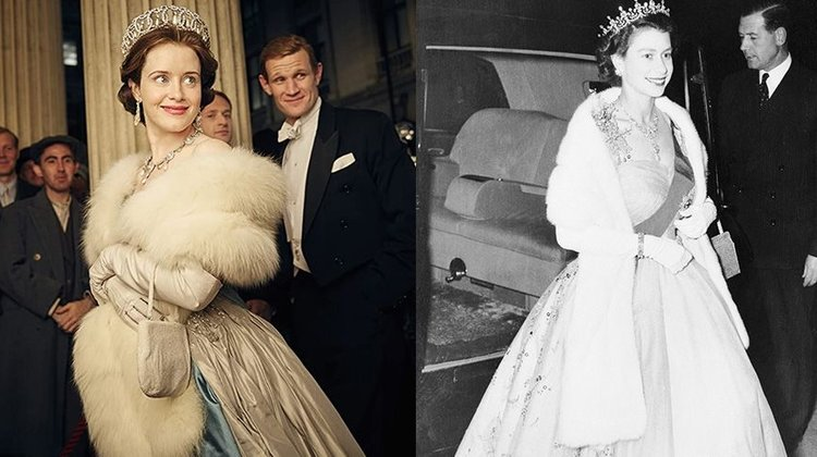 The Crown Kraliyet Kıyafetlerini Yeniden Canlandırdı