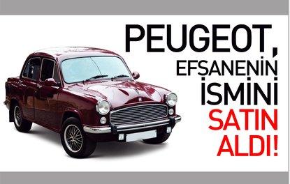 PEUGEOT, EFSANENİN İSMİNİ SATIN ALDI!